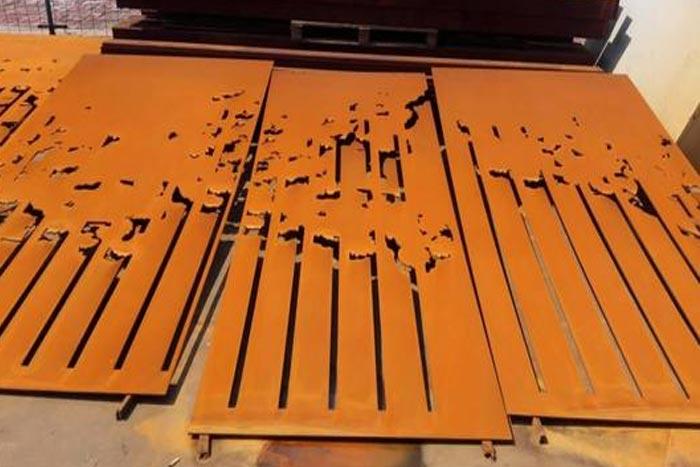 耐候钢的生锈原理和锈化处理-耐候钢厂家